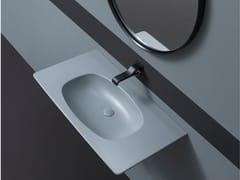 Lavabo sospeso in ceramicaNUDAFLAT 90 - CERAMICA FLAMINIA