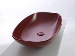 Lavabo ovale sospeso in ceramicaNUDASlim - CERAMICA FLAMINIA