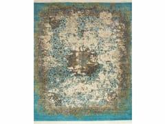 Tappeto fatto a mano NUR SKRT-814 Light Turquoise/Denim Ash - Far East