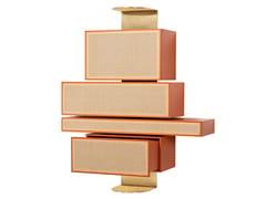 Mobile contenitore a parete con ante a ribalta e cassettiNYNY | Credenza - WIENER GTV DESIGN