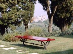 Panchina in legno senza schienale NYSSA   Panchina - Nyssa