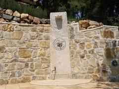 GH LAZZERINI, Doccia esterna in pietra naturale Doccia esterna in pietra naturale