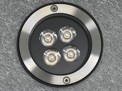 Segnapasso a LED in acciaio inoxO SPOT 10 NARROW - PURALUCE