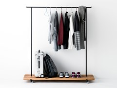 Appendiabiti da terra in rovere OAK CLOTHES RACK #01 - WELD & CO