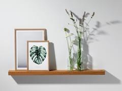 Mensola in rovereOAK PICTURE LEDGE #02 - WELD & CO