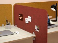 Pannello divisorio da scrivania in PET riciclatoOASIS CLIP - MANADE