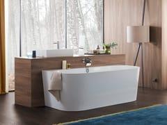 Vasca da centro parete in Quaryl®OBERON 2.0 | Vasca da bagno in Quaryl® - VILLEROY & BOCH