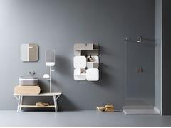 Mobile lavabo con specchioOBLON - SEI - NOVELLO