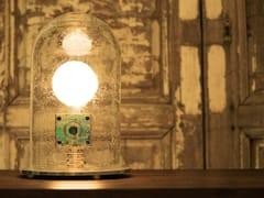 Lampada da tavolo a luce indiretta in vetro soffiatoOF - PASCAL AND PHILIPPE