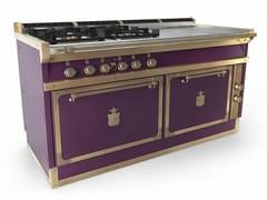 Cucina a libera installazione professionale in acciaio in stile modernoOGS168FB | Cucina a libera installazione - OFFICINE GULLO