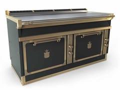Cucina a libera installazione professionale in acciaioOGS168FB2 | Cucina a libera installazione - OFFICINE GULLO