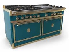 Cucina a libera installazione professionale in acciaioOGS168PX2 | Cucina a libera installazione - OFFICINE GULLO