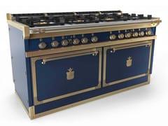 Cucina a libera installazione professionale in acciaio in stile modernoOGS168X2 | Cucina a libera installazione - OFFICINE GULLO