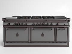 Cucina a libera installazione professionale in acciaioOGS208 | Cucina a libera installazione - OFFICINE GULLO