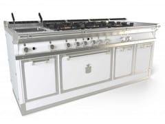 Cucina a libera installazione professionale in acciaioOGS208S | Cucina a libera installazione - OFFICINE GULLO