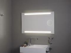 KOH-I-NOOR, OKKIO Specchio da parete con illuminazione integrata per bagno