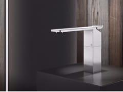 Miscelatore per lavabo da piano monocomando in acciaio inox OKM2 | Miscelatore per lavabo - Okami