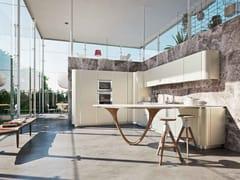 Cucina componibile con penisola OLA 20 | Cucina con penisola - ICONE