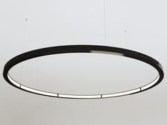 Lampada a sospensione a LED a luce diretta e indiretta in alluminio OLALA - Olala