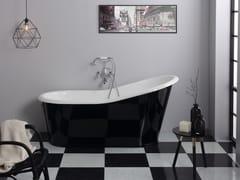 Vasca da bagno in ghisaOLD LAVANDE - BLEU PROVENCE