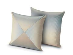 Cuscino quadrato in tessuto OLEG | Cuscino quadrato - Copper Geranium