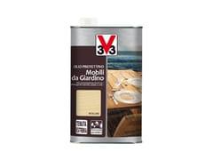 Olio protettivo per legno a tenuta estremaOLIO MOBILI DA GIARDINO - V33 ITALIA