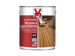 V33 Italia, OLIO TERRAZZE E LEGNO ESTERNO Olio saturatore per legno
