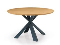 Tavolo rotondo in legno su misura MONTANA | Tavolo rotondo - Oliver B. Casa