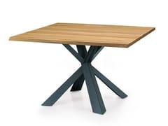 Tavolo quadrato in legno su misura MONTANA | Tavolo quadrato - Oliver B. Casa