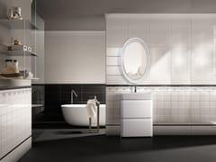 Mobile lavabo singolo con specchio OLYMPIA 600 -
