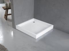 Piatto doccia rinforzato con profili in acciaioOLYMPIC - NOVELLINI