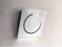 Cappa a parete con illuminazione integrataOM AIR - ELICA