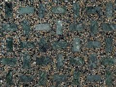 Lithos Mosaico Italia, OMAGGIO A SCARPA - VERDE Pavimento in graniglia