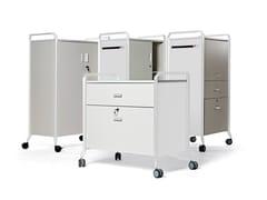 Cassettiera ufficio con ruoteON TIME - ACTIU