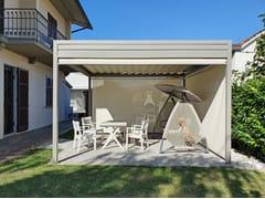 Pergolato in alluminio e PVC con copertura scorrevoleONDA 90 WATERPROOF - GIULIO BARBIERI S.R.L. - OUTDOOR SOLUTIONS