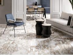Pavimento/rivestimento in gres porcellanato effetto marmo per interniONIRIC WHITE - CERAMICHE KEOPE