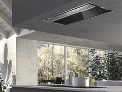 Cappa in acciaio inox e vetro ad incasso con illuminazione integrata classe A++ONYX-C - FABER