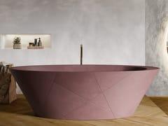 Vasca da bagno centro stanza ovale in Akron©OPAL QUIZ - CONSTRUPLAS