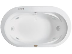 Vasca da bagno idromassaggio ovale da incassoOPALIA | Vasca da bagno - JACUZZI® EUROPE