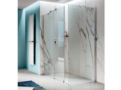 Box doccia con parete fissaOPEN   Box doccia angolare - SAMO