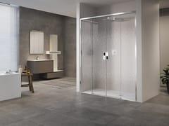 NOVELLINI, OPERA 2A Box doccia a nicchia con porta scorrevole