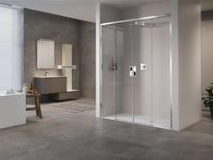 Box doccia a nicchia con porta scorrevoleOPERA | 2A - NOVELLINI