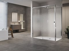 Box doccia angolare con porta scorrevoleOPERA | 2P + F - NOVELLINI
