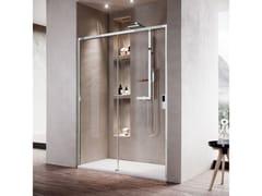 Box doccia a nicchia con porta scorrevoleOPERA | 2P - NOVELLINI