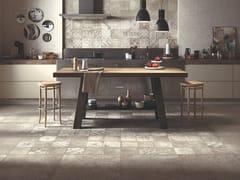 Panaria Ceramica, OPIFICIO 22/A Pavimento/rivestimento in gres porcellanato effetto cemento per interni ed esterni