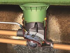 Sistema di recupero acqua piovanaFiltro OPTIMAX esterno - OTTO GRAF
