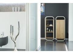 Libreria in calcestruzzo e legnoOPUS PATEO MAGNO - CO33