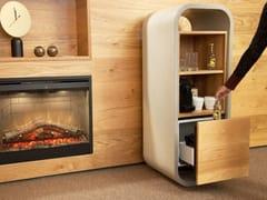 Mobile bar in calcestruzzo e legnoOPUS POTARE - CO33
