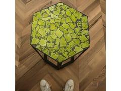 Tavolino basso da caffè da giardino in ferro in stile modernoOPUS TABLE | Tavolino - ACQUARIO DUE CERAMICHE