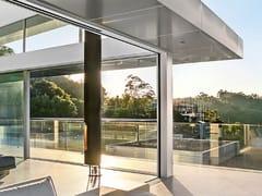 Porta-finestra a taglio termico scorrevole in alluminioORAMA MINIMAL FRAMES - AGOSTINIGROUP